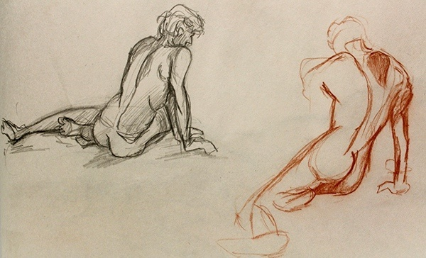 Gesture Drawing Collection Fall Quarter 2014 By Reikns D8Cxjye